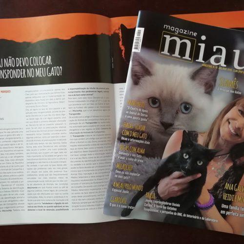 Novo artigo para a Miau Magazine