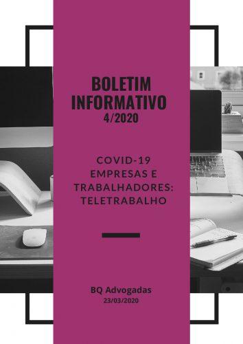 COVID-19 – Boletim Informativo – 4/2020