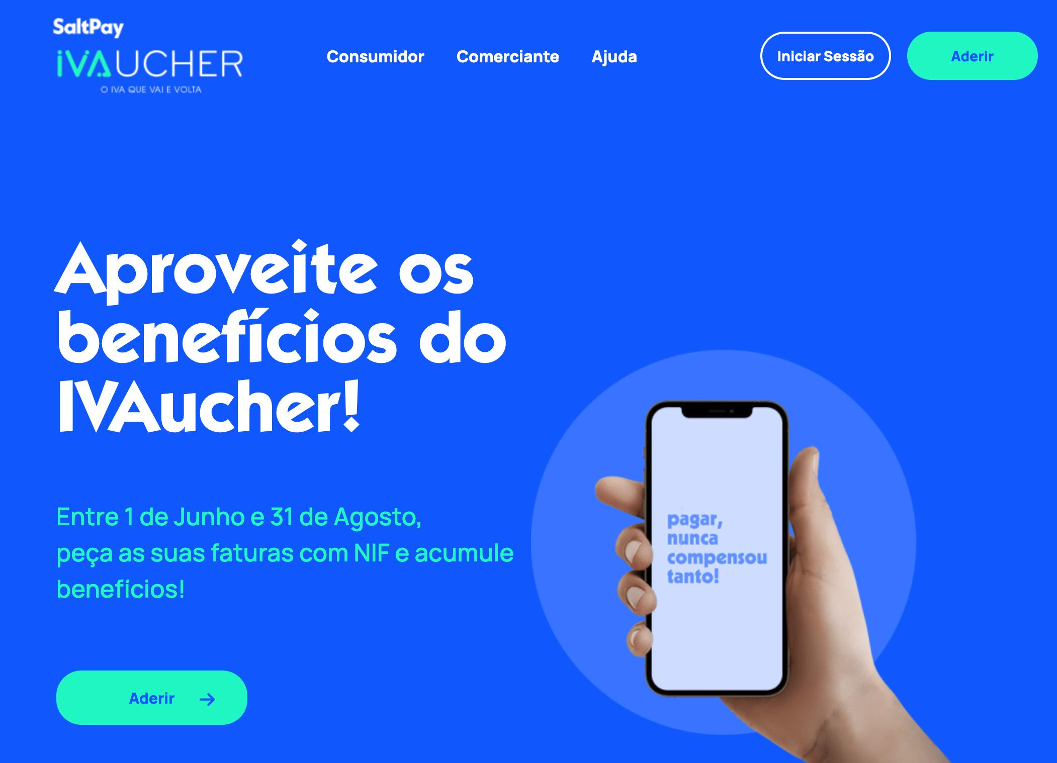 BQ Advogadas - IVAucher, site, captura de ecran